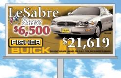 Car Dealership Billboard