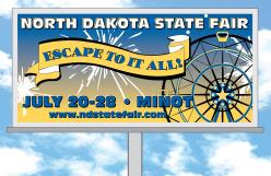 North Dakota State Fair Billboard