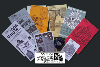 Mouse River Players -- Logo Design, Photography, Posters, Marketing, Program Layouts