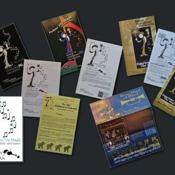 Minot Symphony Orchestra -- Logo Design, Marketing Materials, Program Layout