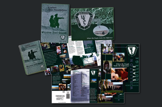 Williston State College -- Photography, Marketing Materials, Recruitment Brochures