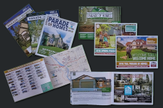 Bismarck-Mandan Parade of Homes Bi-Annual Guides -- Layout, Cover Design, Advertisements, Maps, Project Coordination