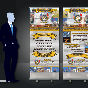 Union Pull-up Banners