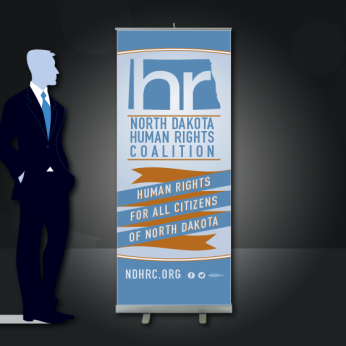 Non-Profit Pull-up Banner