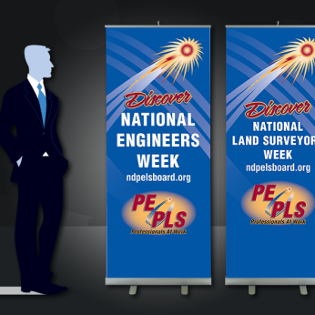 State Organization Recruitment Pull-up Banners