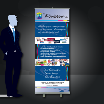 Marketing Pull-up Banner