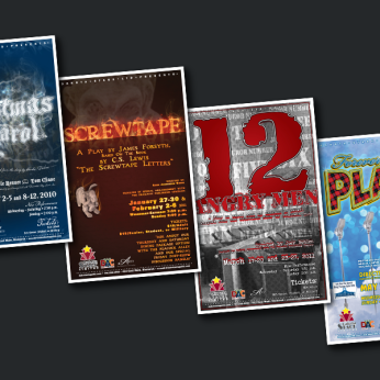 Dakota Stage Ltd. Theatre Posters