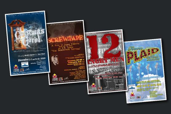 Dakota Stage Ltd. Theatre Posters